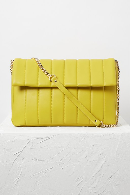rozzie oversized quilted bag