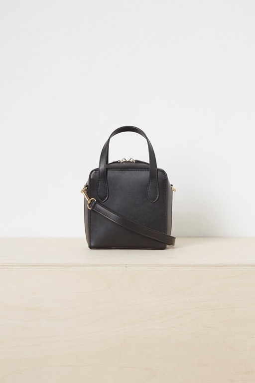 lula recycled leather crossbody bag
