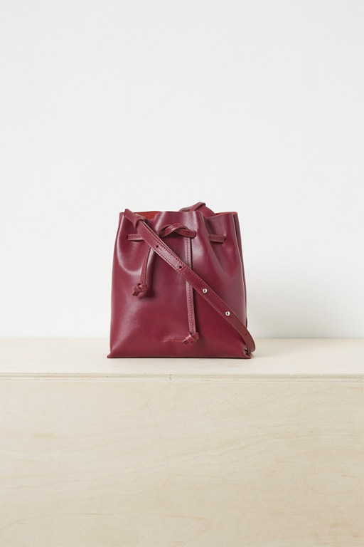 Complete the Look Sauda Leather Bucket Bag