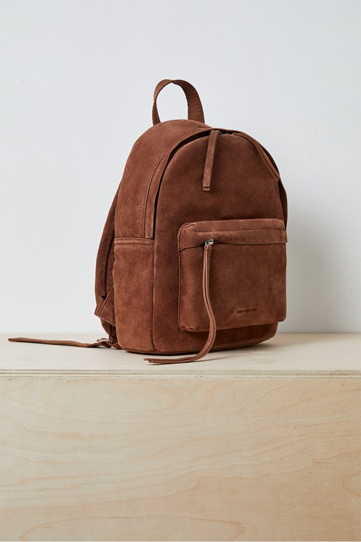 libby suede backpack