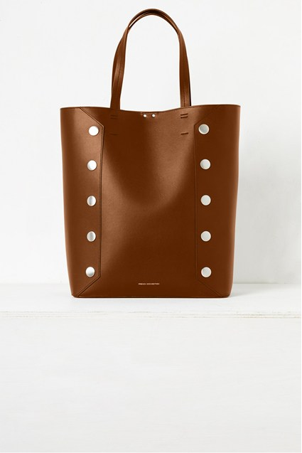Bianca Recycled Leather Studded Tote