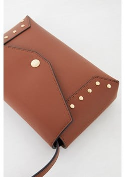 Bruna Recycled Leather Studded Bag