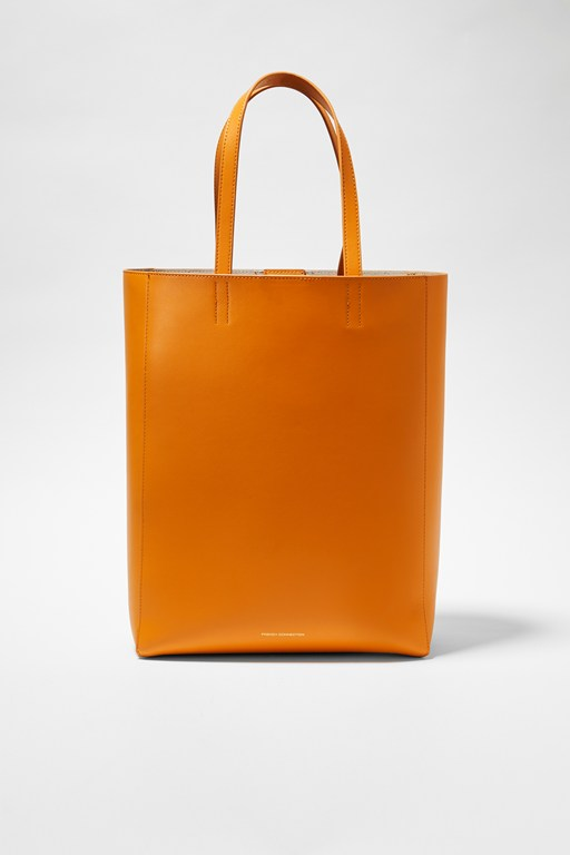 moa large recycled leather tote