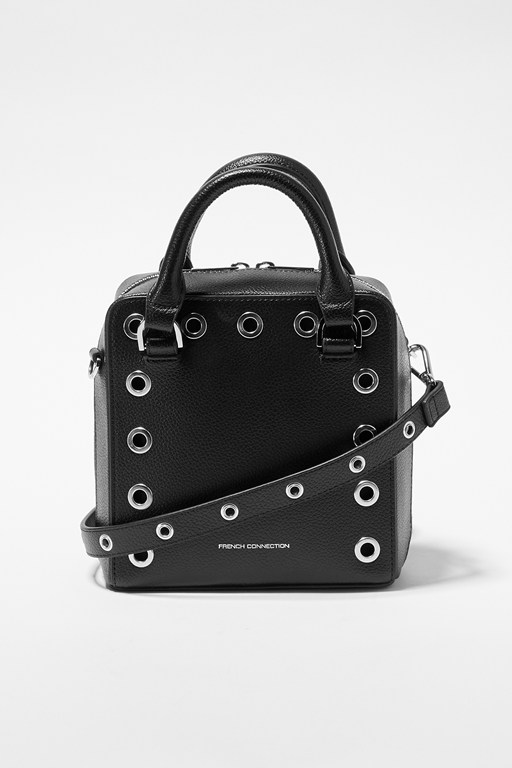 Complete the Look Fern Studded Split Leather Crossbody Bag