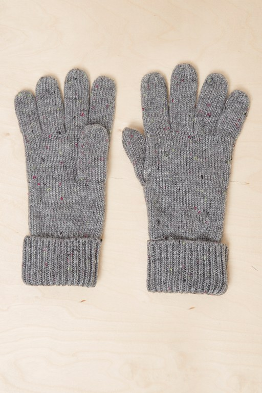 Complete the Look Speckle Knitted Gloves