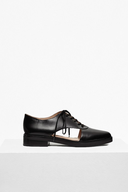 Mazin Cut Out Leather Brogues
