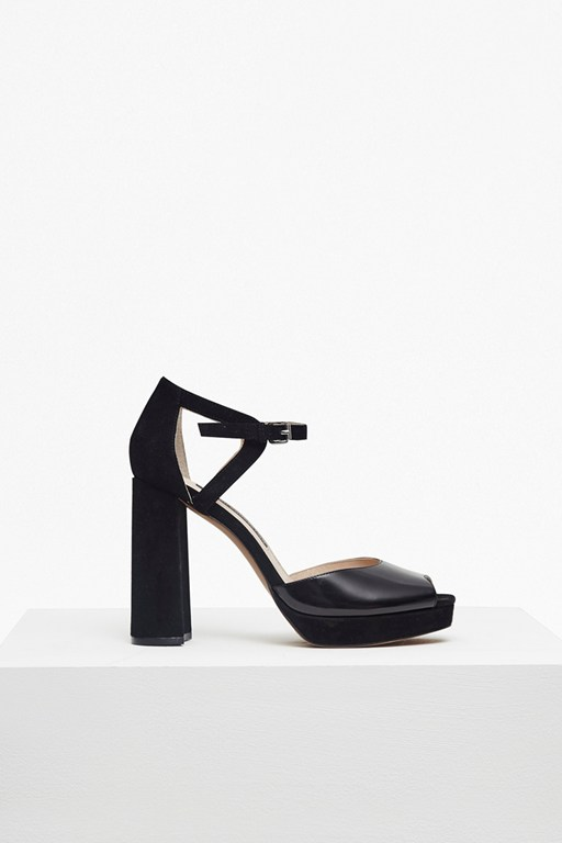 Complete the Look Dita Chunky Platform Heeled Sandals