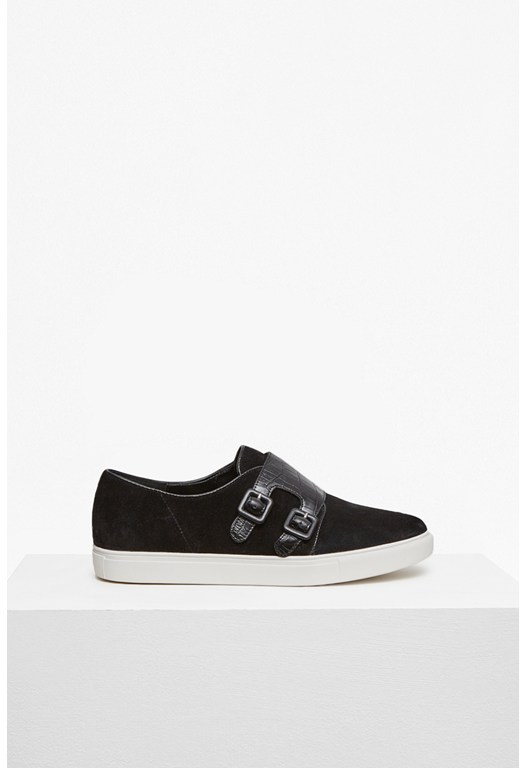 Braylee Double Buckle Plimsole
