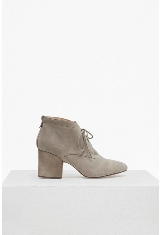 Dinah Lace Up Suede Boots