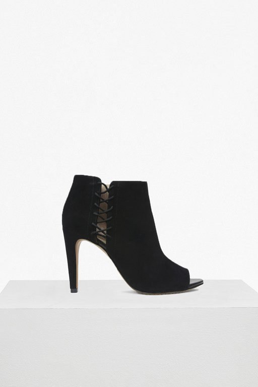 Complete the Look Quincy Heeled Open Toe Shoe Boots