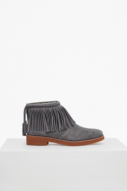 Complete the Look Vanessa Fringed Suede Boots