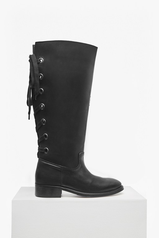 Complete the Look Equestrian Leather Boots
