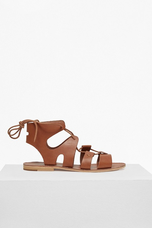 Complete the Look Aurora Lace Up Leather Gladiator Sandals