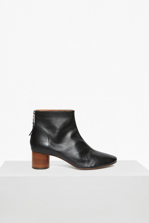 Complete the Look Hannah Cylinder Heeled Leather Boots