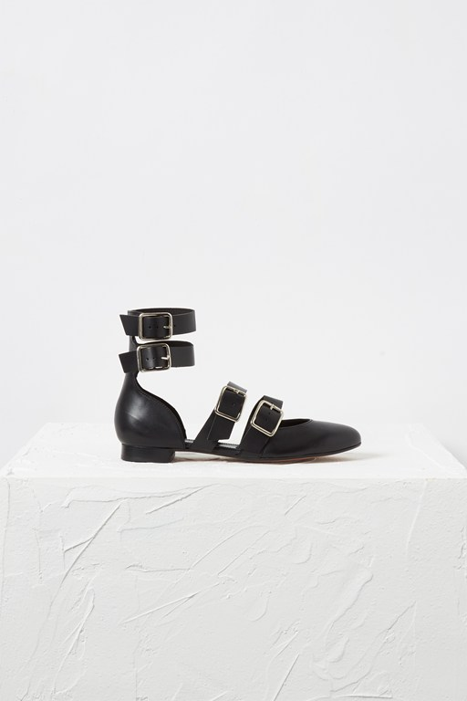 Complete the Look ELENI STRAPPY BUCKLE PUMP