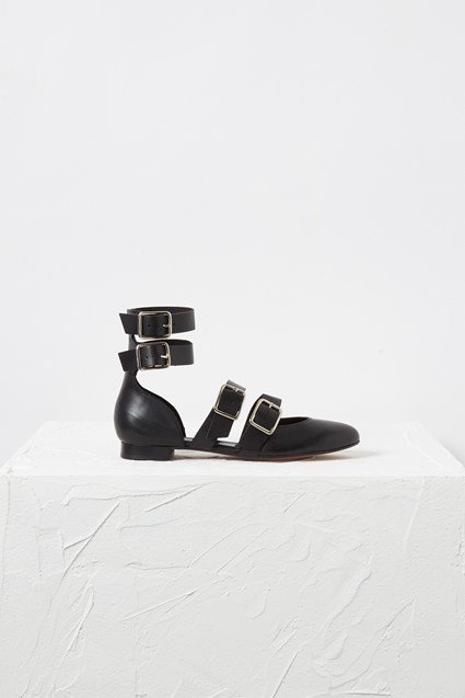 ELENI STRAPPY BUCKLE PUMP