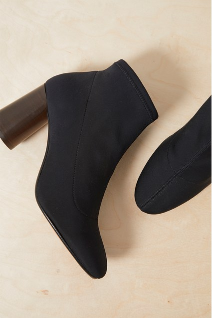 Mary Stretch Neoprene Ankle Boots