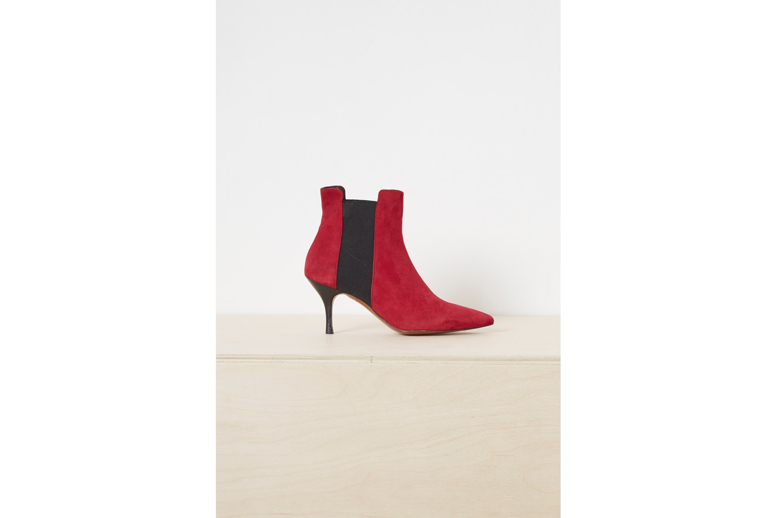 Jojo Suede Chelsea Pointy Boots