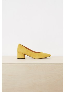 Ani High Vamp Point Block Heels