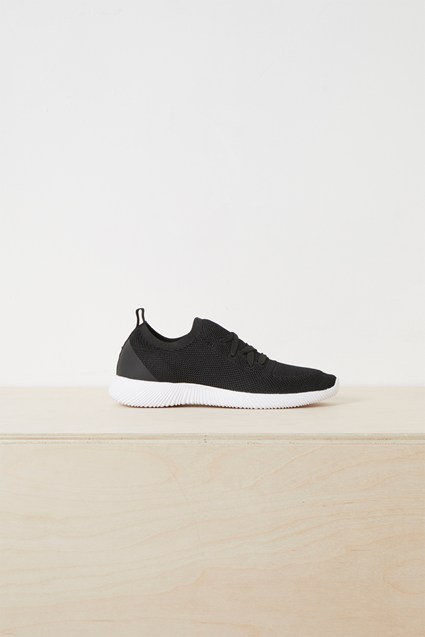 Nelly Knitted Lace Up Trainers
