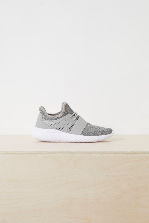 Complete the Look Nella Knitted Lace Up Trainer