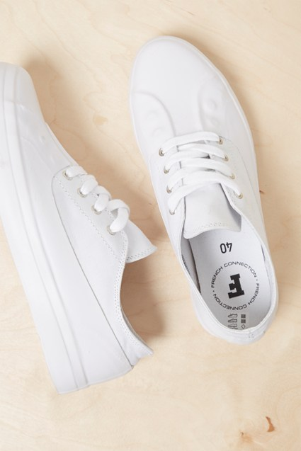 Alex Rubber Canvas Eyelet Sneakers