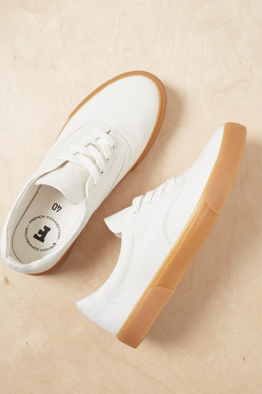 Complete the Look Ade Canvas Lace Up Sneakers
