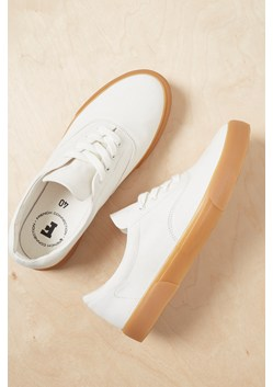 Ade Canvas Lace Up Trainers