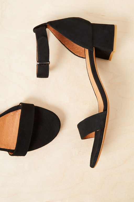 Complete the Look Karla Suede Block Heel Shoes