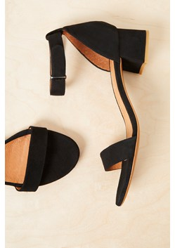 Karla Suede Block Heel Shoes