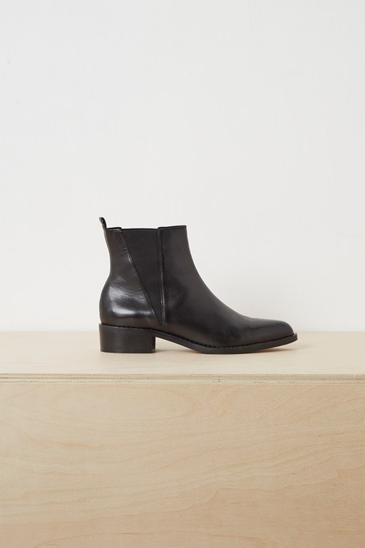 vella studded chelsea ankle boots