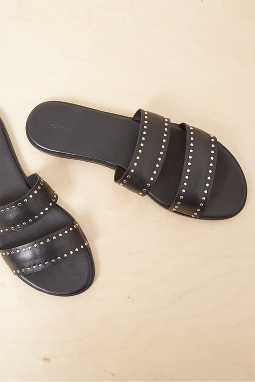 mai studded leather sandal