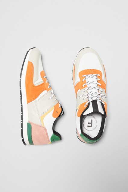 Multi Panel Runner Sneakers