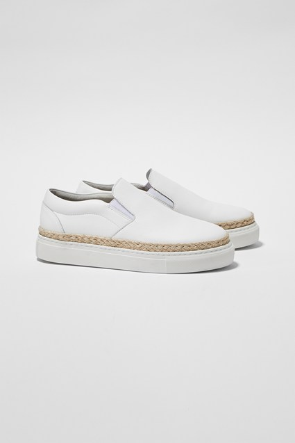 Remi Leather Espadrille Sneakers