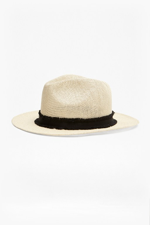 Complete the Look Riley Raffia Hat