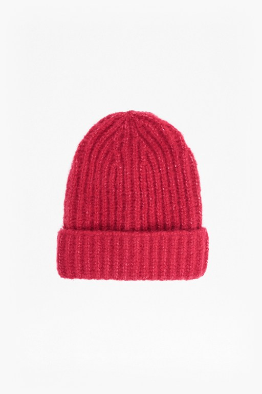 Complete the Look Cashmere Ribbed Beanie