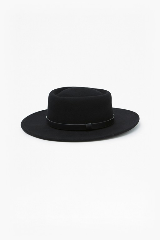 oversized pork pie hat