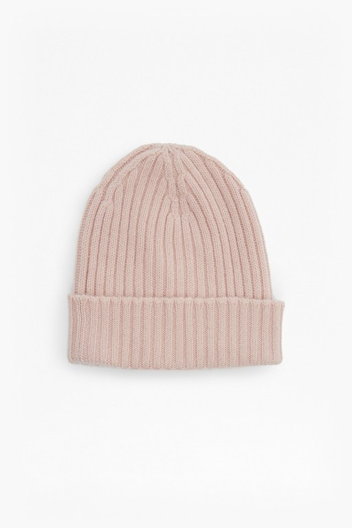 Complete the Look Cashmere Rib Beanie