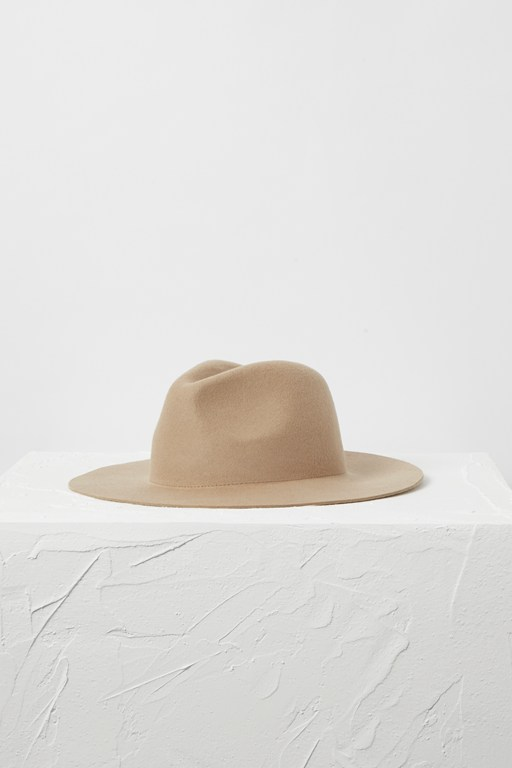 Complete the Look Aiyko Felt Fedora Hat