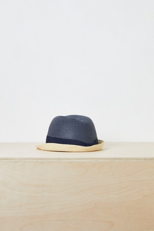 bayonne color-block trilby