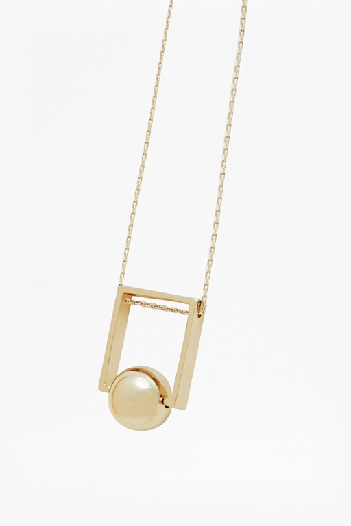 Complete the Look Orbital Bead Pendant Necklace