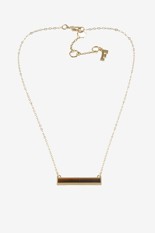 Complete the Look Bar pendant Necklace