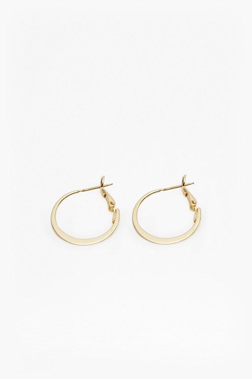 Complete the Look Small Hoops