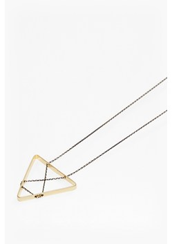 Geo Triangle Pendant Necklace