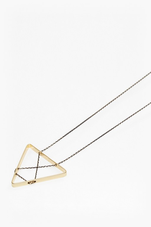 Complete the Look Geo Triangle Pendant Necklace