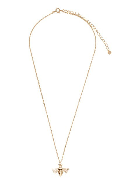 Complete the Look Bees Cahrm Necklace