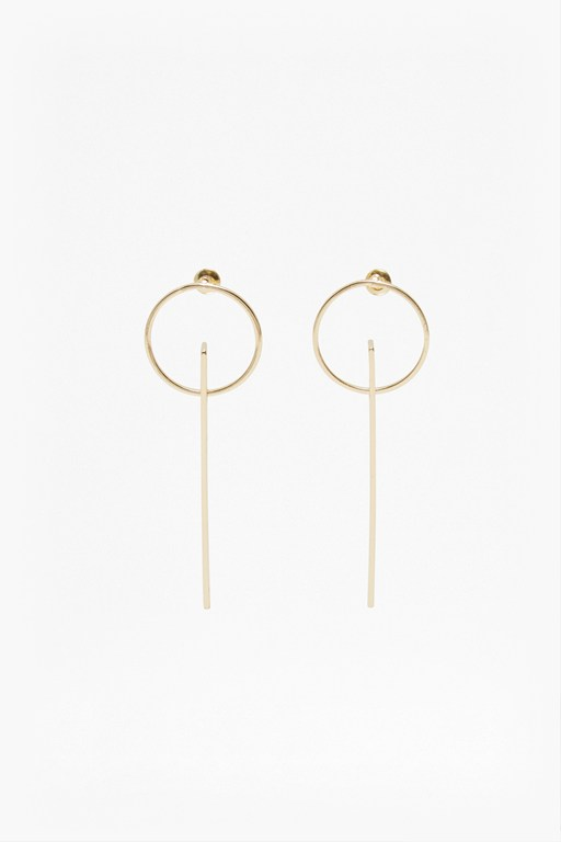 Complete the Look Core Drop Plate Earrings