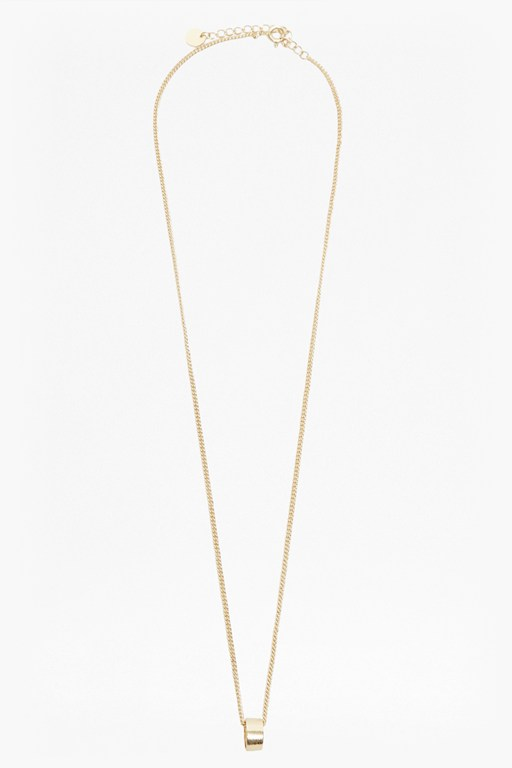 Complete the Look Pendulum Mini Ring Necklace