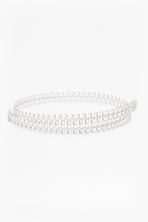 Complete the Look Braidered Wire Choker