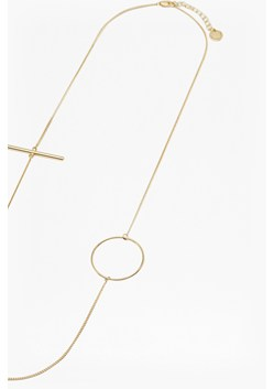 Circle & Bar Chain Necklace